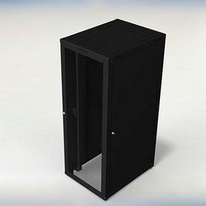 Rack de servidor com prateleiras